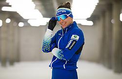 Eva Urevc during the training before start of olympic season 2021/2022, on 09.06.2021 in Nordic ski center Planica, Slovenia. Photo by Urban Meglič / Sportida