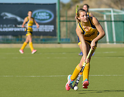 Danine Retief of Oranje MS during day two of the FNB Private Wealth Super 12 Hockey Tournament held at Oranje Meisieskool in Bloemfontein, South Africa on the 7th August 2016, <br /> <br /> Photo by:   Frikkie Kapp / Real Time Images