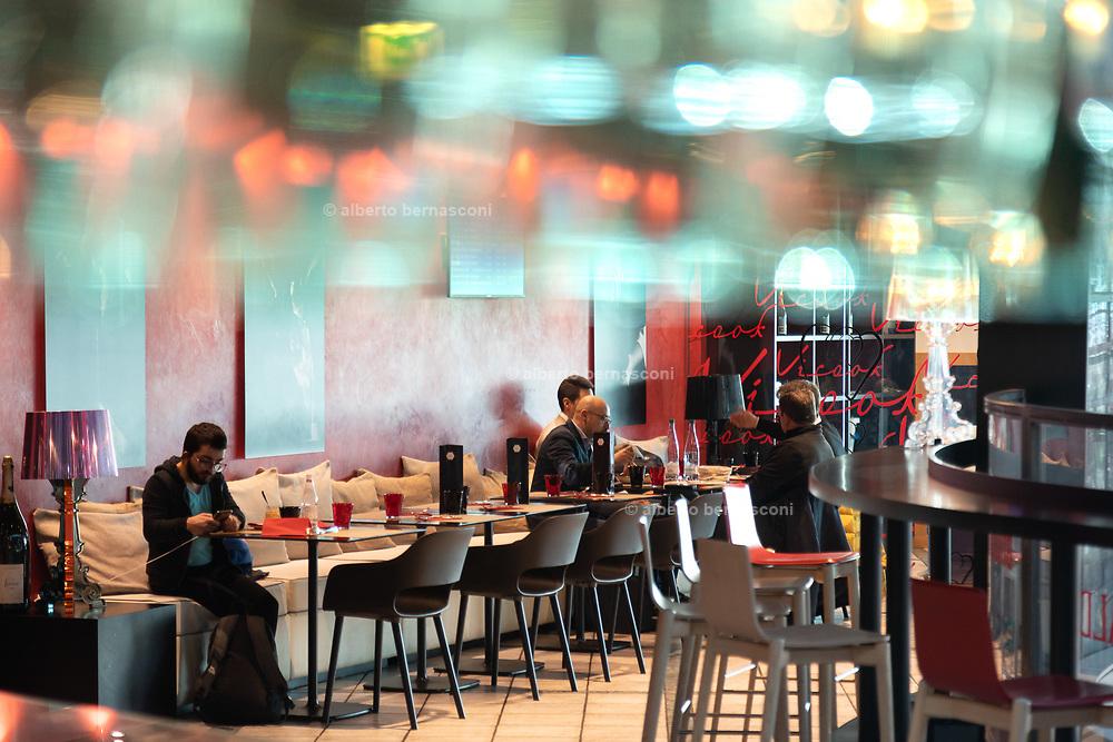 Bergamo, restaurants at Orio al Serio Airport, Vicook Bistrot