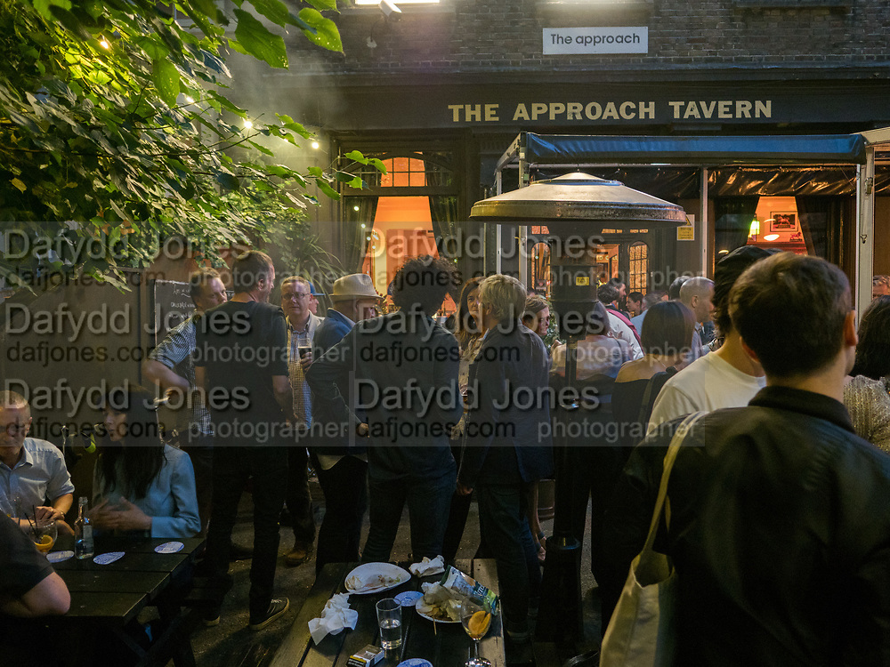 The Approach 20th Anniversary party. The Approach, Bethnal Green. London. 3 July 2017
