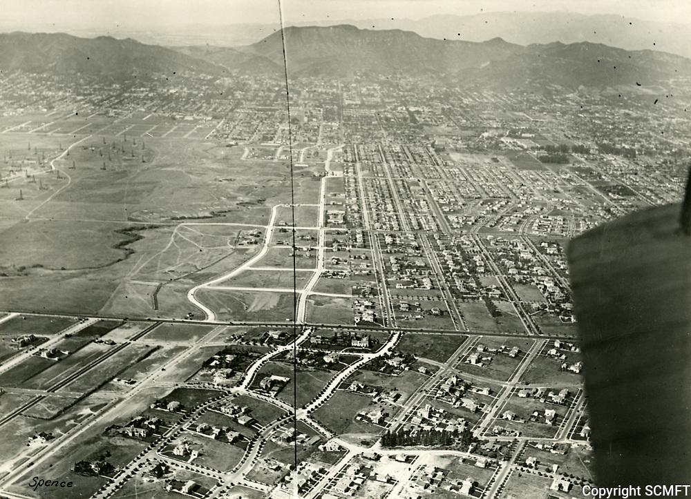 1924 Looking north at Hollywood