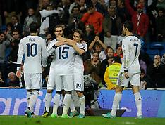 NOV 3 2012 Real Madrid 4 vs Zaragoza 0