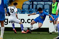 James Jennings. Stockport County FC 2-0 Chesterfield FC. Vanarama National League. 27.2.21 Edgeley Park.