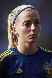 June 29, 2019 - Rennes, France - Linda Sembrant (Montpellier HSC) of Sweden during the 2019 FIFA Women's World Cup France Quarter Final match between Germany and Sweden at Roazhon Park on June 29, 2019 in Rennes, France. (Credit Image: © Jose Breton/NurPhoto via ZUMA Press)