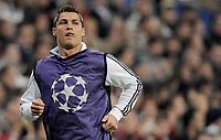 Reals Cristiano Ronaldo beim einlaufen. © Melanie Duchene/EQ Images