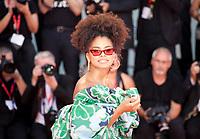 Venice, Italy, 31st August 2019, Zazie Beetz at the gala screening of the film Joker at the 76th Venice Film Festival, Sala Grande. Credit: Doreen Kennedy