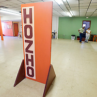 100312       Brian Leddy<br /> Cleaning and construction are almost finished at The Hozho Center.