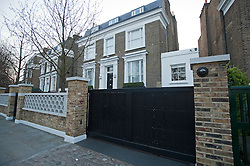 © Licensed to London News Pictures. FILE PICTURE 26/03/2012. London, UK. The  home of pop mogul SIMON COWELL in West London which was reportedly broken in to in the early hours of Friday morning.Photo credit : Ben Cawthra/LNP