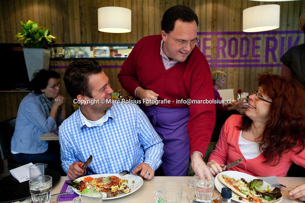 vught, burgemeester roderick van de mortel serveerde in het gelijknamige restaurant