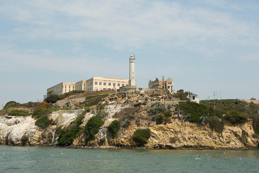 Alcatraz prison island in San Francisco<br /> Copyright 2015 John O'Boyle<br /> john@johnoboyle.com