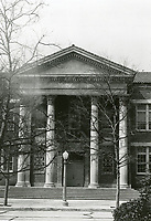 1945 Main entrance to Third Street School at June St. & Third St.
