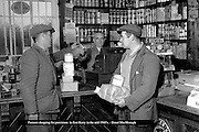 Farmers shopping for provisions in the mid 1960's.<br /> Photo: Donal MacMonagle