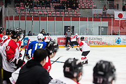 FURUHASHI Makuru (JAP) during OI pre-qualifications of Group G between Slovenia men's national ice hockey team and Japan men's national ice hockey team, on February 9, 2020 in Ice Arena Podmezakla, Jesenice, Slovenia. Photo by Peter Podobnik / Sportida