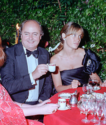 NED RYAN and LADY (MIRANDA) NUTTALL at a 21st birthday party in London on 14th July 1981.