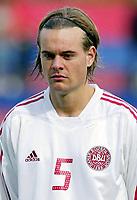 Fotball<br /> Landskamp U21<br /> Danmark v Norge 1-3<br /> Helsingør<br /> 05.10.2006<br /> Foto: Morten Olsen, Digitalsport<br /> <br /> Timmi Johansen - Danmark<br /> Heerenveen