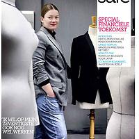 Cover SAFE Magazine van Robeco, special financiële toekomst
