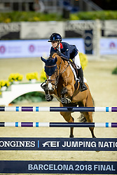Derbyshire Amanda, GBR, Roulette BH<br /> Longines FEI Jumping Nations Cup™ Final<br /> Barcelona 20128<br /> © Hippo Foto - Dirk Caremans<br /> 07/10/2018