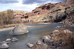 fly-fishing, wind river, dubois, wyoming, badlands,