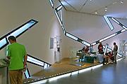 Berlino: the Judishes Museum designed by Daniel Libeskind