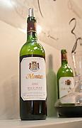 Chateau Montus and a carafe decanter, Madiran, France Madiran France