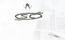 01.02.2019, Heini Klopfer Skiflugschanze, Oberstdorf, GER, FIS Weltcup Skiflug, Oberstdorf, Wertungsdurchgang, im Bild Philipp Aschenwald (AUT) // Philipp Aschenwald of Austria during his Competition Jump of FIS Ski Jumping World Cup at the Heini Klopfer Skiflugschanze in Oberstdorf, Germany on 2019/02/01. EXPA Pictures © 2019, PhotoCredit: EXPA/ JFK