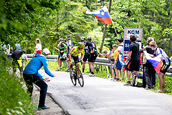 Kenny MOLLY of BINGOAL PAUWELS SAUCES during 2nd Stage of 27th Tour of Slovenia 2021 cycling race between Zalec and Celje (147 km), on June 10, 2021 in Slovenia. Photo by Matic Klansek Velej / Sportida