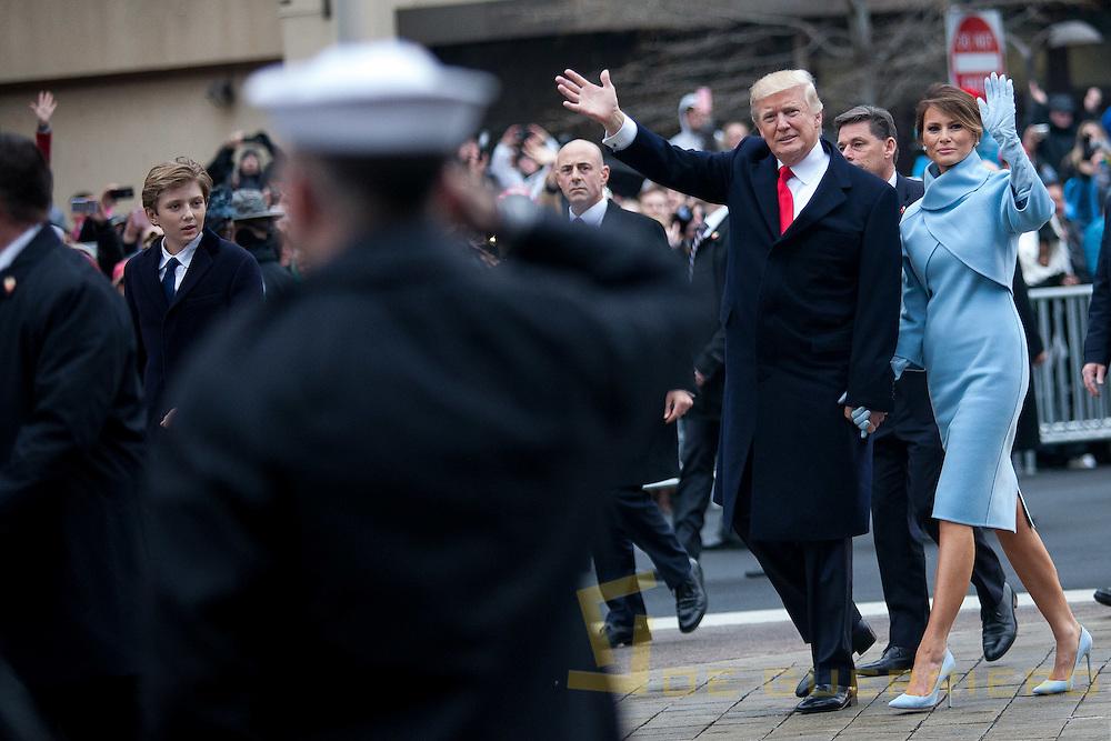 Inauguration Day 2017 Trump Family