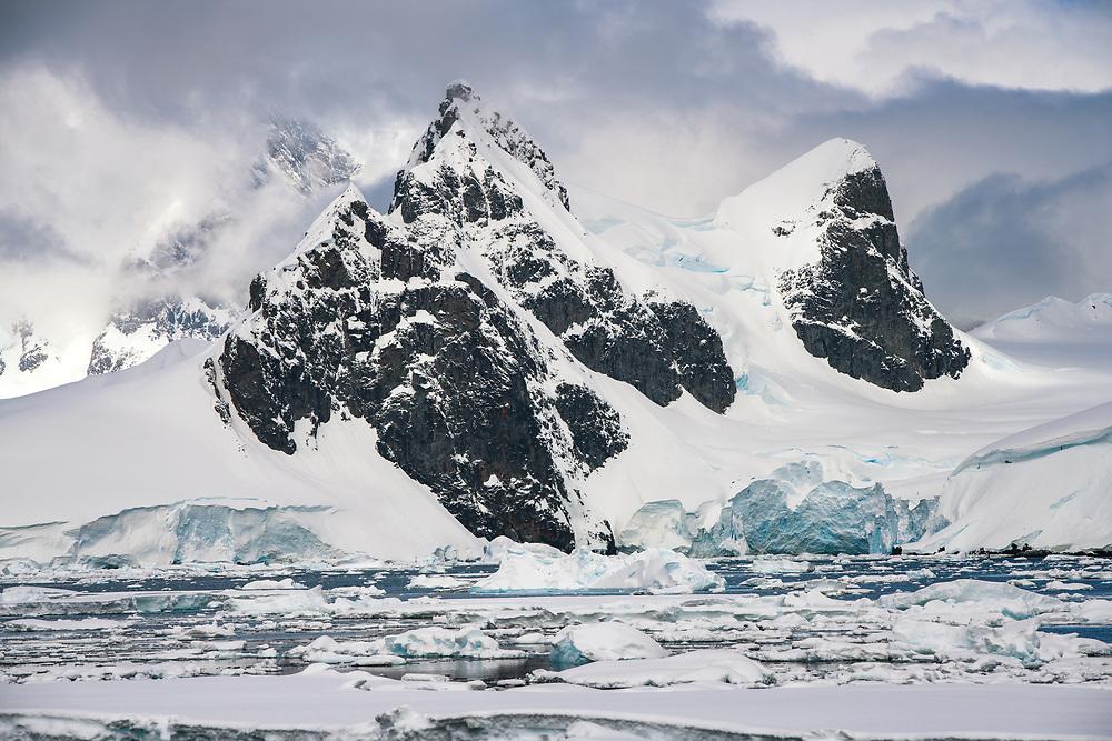 Mountains of Palmer Archipelago, Antarctica