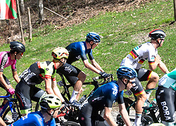 22.04.2019, Kufstein, AUT, Tour of the Alps, 1. Etappe, Kufstein - Kufstein, 144km, im Bild // Christopher Froome (GBR, Team Sky) beim Anstieg Maria Stein during the 1st Stage of the Tour of the Alps Cyling Race from Kufstein to Kufstein (144km) in in Kufstein, Austria on 2019/04/22. EXPA Pictures © 2019, PhotoCredit: EXPA/ Reinhard Eisenbauer