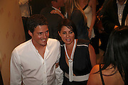 Dave gardner and Sadie Frost. PETA's Humanitarian Awards, Stella McCartney, Bruton Street, London, W1. 28 June 2006. ONE TIME USE ONLY - DO NOT ARCHIVE  © Copyright Photograph by Dafydd Jones 66 Stockwell Park Rd. London SW9 0DA Tel 020 7733 0108 www.dafjones.com