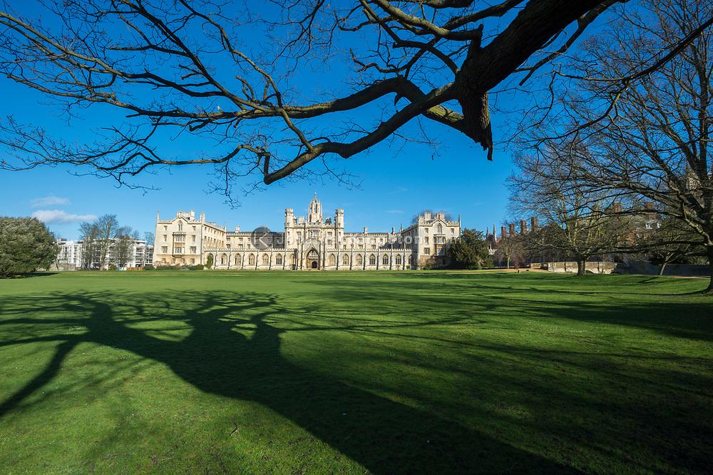 St John's College, Cambridge University, England.