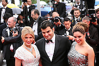 Kelly Brook and Hoffit Golan arriving at the Vous N'Avez Encore Rien Vu gala screening at the 65th Cannes Film Festival France. Monday 21st May 2012 in Cannes Film Festival, France.
