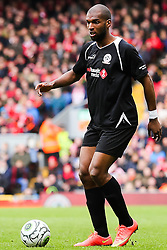 Ryan Babel in action for the Gerrard XI  - Photo mandatory by-line: Matt McNulty/JMP - Mobile: 07966 386802 - 29/03/2015 - SPORT - Football - Liverpool - Anfield Stadium - Gerrard's Squad v Carragher's Squad - Liverpool FC All stars Game