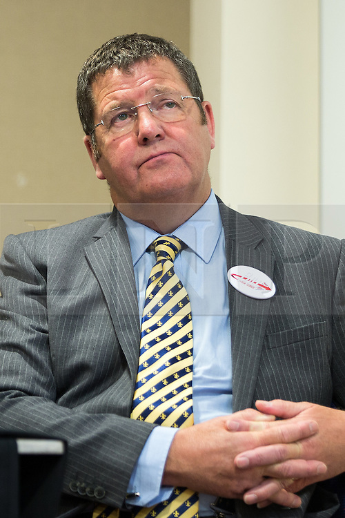 © Licensed to London News Pictures . 08/08/2016 . Manchester , UK . MIKE HOOKEM MEP at the launch of Bill Etheridge's campaign to be the leader of UKIP at the Manchester Conference Centre . The leadership contest follows the resignation of Nigel Farage . Etheridge is supported by UKIP defence spokesman Mike Hookem MEP . Photo credit : Joel Goodman/LNP