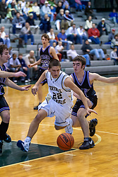 27 December 2006 State Farm Holiday Basketball Tournament. Bloomington Central Catholic v El Paso-Gridley.  Boys Class A,Shirk Center, Illinois Wesleyan University Campus, Bloomington, Illinois