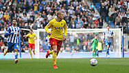 Watford Matej Vydra during the Sky Bet Championship match between Brighton and Hove Albion and Watford at the American Express Community Stadium, Brighton and Hove, England on 25 April 2015. Photo by Phil Duncan.