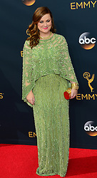 September 18, 2016 - Los Angeles, California, United States - Amy Poehler arrives at the 68th Annual Emmy Awards at the Microsoft Theater in Los Angeles, California on Sunday, September 18, 2016. (Credit Image: © Michael Owen Baker/Los Angeles Daily News via ZUMA Wire)