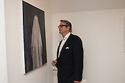 BOB CROZIER, Behind the Silence. private view  an exhibition of work by Paul Benney and Simon Edmondson. Serena Morton's Gallery, Ladbroke Grove, W10.  4 November 2015.