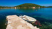 Fishing village on the Peljesac Peninsula, Dalmatia, Croatia