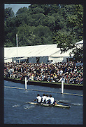 Henley on Thames. United Kingdom. Hansa Dortmund,1990 Henley Royal Regatta, Henley Reach, River Thames. 06/07.1990 Prince Philip Challenge Cup 1st Hansa Dortmund, Germany<br /> <br /> [Mandatory Credit; Peter SPURRIER/Intersport Images] 1990 Henley Royal Regatta. Henley. UK