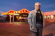 Comet II proprietor Johnny Martinez in Santa Rosa New Mexico. - Steven St. John for New Mexico Magazine