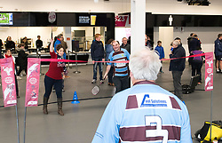 Pre-match activities in the South Stand concourse at Ashton Gate Stadium - Mandatory by-line: Paul Knight/JMP - 22/10/2017 - RUGBY - Ashton Gate Stadium - Bristol, England - Bristol Rugby v Doncaster Knights - B&I Cup