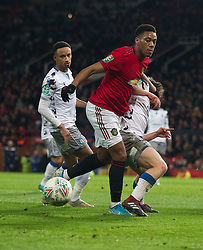 Anthony Martial of Manchester United in action - Mandatory by-line: Jack Phillips/JMP - 18/12/2019 - FOOTBALL - Old Trafford - Manchester, England - Manchester United v Colchester United - English League Cup Quarter Final