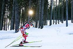 NOWAKOWSKA-ZIEMNIAK Weronika of Poland during Women 7.5 km Sprint of the e.on IBU Biathlon World Cup on Thursday, March 6, 2014 in Pokljuka, Slovenia. The first e.on IBU World Cup stage is taking place in Rudno polje - Pokljuka, Slovenia until Sunday March 9, 2014. Photo by Matic Klansek Velej / Sportida