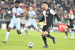 Torino 20191126 : 5 Thomas - 7 Ronaldo UEFA Champions league Group match between Juventus and Atletico Madrid. Torino, Italy, 26.11.2019. Photo Primoz Lovric / Sportida