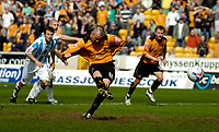 Photo: Ed Godden.<br />Wolverhampton Wanderers v Brighton & Hove Albion. Coca Cola Championship. 22/04/2006. Kenny Miller scores a penalty for Wolves.