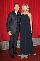 Lee Latchford-Evans, Faye Tozer, British Soap Awards, Lowry Theatre, Manchester UK, 03 June 2017, Photo by Richard Goldschmidt