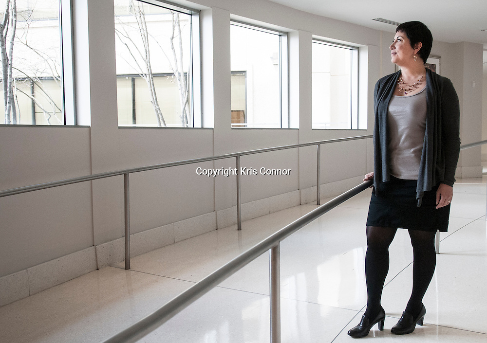 Aurelia Flores Roch poses for a portrait in Mclean, Virginia on March 27, 2013. Photo by Kris Connor