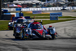 March 14, 2019 - Sebring, Etats Unis - 38 JACKIE CHAN DC RACING (CHN) ORECA 07 GIBSON LMP2 HO PIN TUNG (NLD) GABRIEL AUBRY (FRA) STEPHANE RICHELMI  (Credit Image: © Panoramic via ZUMA Press)