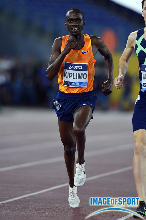 Jacob Kiplimo (UGA) wins the 3,000m in a national record 7:26.64 during the Mennea Golden Gala at Stadio Olimpico, Thursday, Sept. 17, 2020, in Rome. (Jiro Mochizuki/Image of Sport)